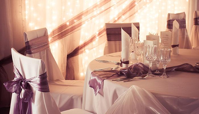 Catering till bröllopet